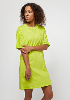 adidas The Dye Pack Tee Dress crunch wash yellow