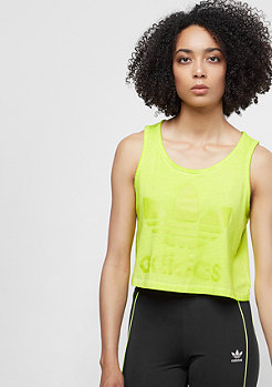 adidas The Dye Pack Loose Crop Tank crunch wash yellow
