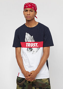 Cayler & Sons C&S WL Block Trust Tee white/navy