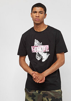 Cayler & Sons C&S WL Trust Tee black/pale pink