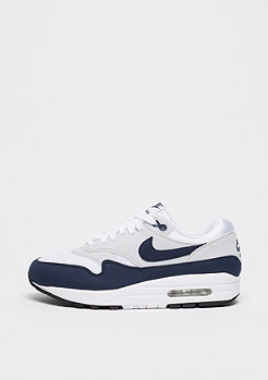 NIKE Air Max 1 white/obsidian-pure platinum-black