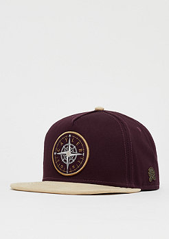 Cayler & Sons C&S CL Navigating Cap bordeaux/sand