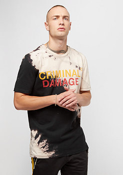 Criminal Damage Blech Tee black/tan