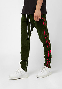 Criminal Damage Rep Jogger olive/red
