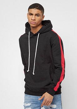 Criminal Damage Carnaby Hood black/red