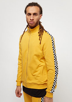 Criminal Damage CD Track Top Chequer yellow/white