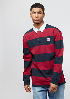 Karl Kani Stripe Rugby red/black