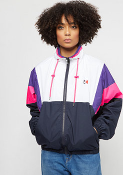 Karl Kani Retro Windrunner white/pink/blue