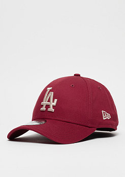New Era 9Forty MLB Los Angeles Dodgers Essential carinal/stone
