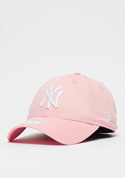 New Era 9Forty MLB New York Yankees Essential pink lemonade/white