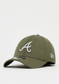 New Era 39Thirty MLB Atlanta Braves Heather 3930 army/gray