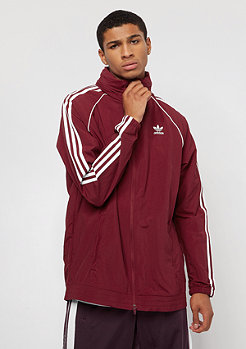 adidas SST Windbreaker collegiate burgundy