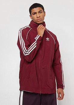 adidas SST Windbreaker collegiate burgundy