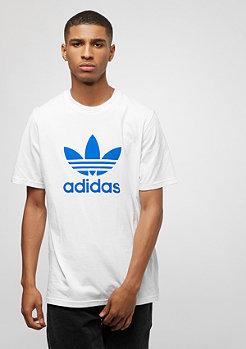 adidas Trefoil white/bluebird