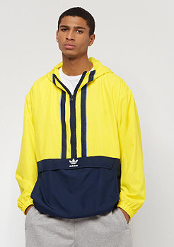 adidas Originals AUTH ANORAK - Cortaviento - shock yellow/collegiate navy w9YKpq