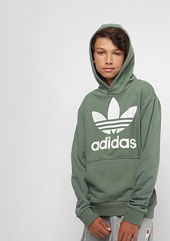 adidas Junior Trefoil trace green/white