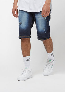 Southpole Denim Shorts dark sand blue