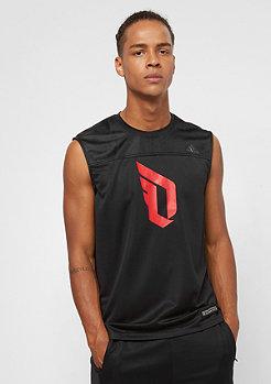 adidas Basketball Dame SL black/scarlet