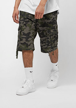 Southpole Camo Canvas Twill woodland