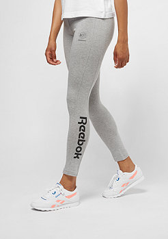 Reebok F Logo medium grey heather/black