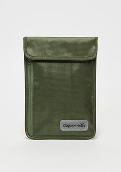 Cleptomanicx Neck Pouch dusty olive