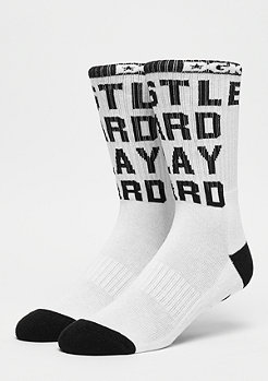 DGK Hustle Crew Socks white