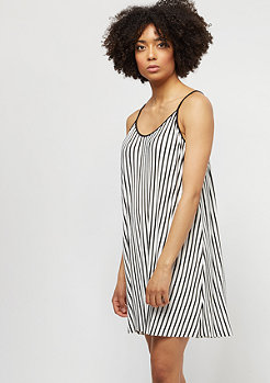 Urban Classics Striped Pleated Slip white/black