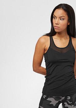 Urban Classics Ladies Tech Mesh Top black