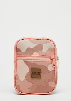 Urban Classics Festival Bag Small rose camo