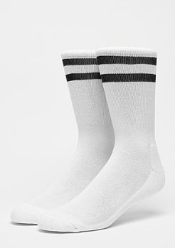 Urban Classics 2-Stripe Socks white black