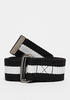 Urban Classics Stripe Belt black/white/black