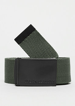 Urban Classics Long Canvas Belt olive