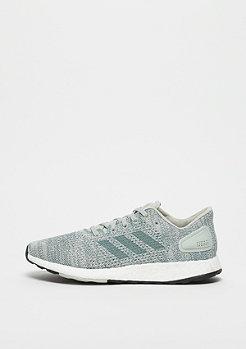 adidas Running PureBOOST ash silver/raw green/aero green