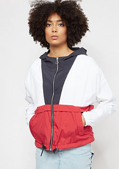 Urban Classics Oversize navy/white/firered