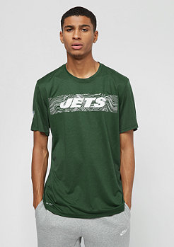 NIKE New York Jets LGD Onfield Seismic green
