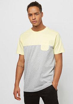 Urban Classics Color Block grey/powderyyellow