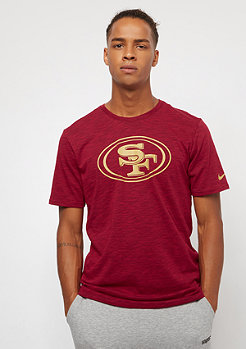 NIKE San Francisco 49ers DFCT Slub gym red