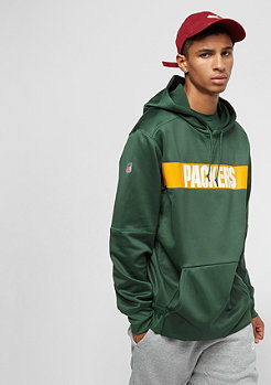NIKE Green Bay Packers Thrma green/green/university gold