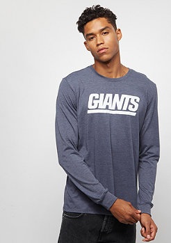 NIKE New York Giants Tri Historical Crackle college navy