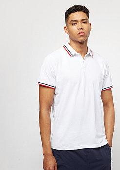 Urban Classics Duoble Stripe white/navy/firered