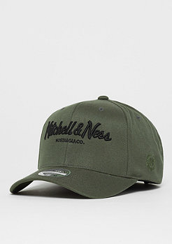 Mitchell & Ness NBA OB Pinscript The Olive&Black 2Tone Logo 110 olive
