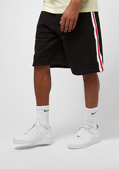 Urban Classics Stripe black/white/firered