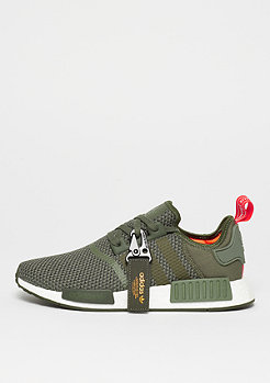 adidas NMD_R1 base green/nicght cargo/solar orange