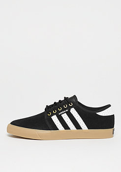 adidas Skateboarding SEELEY black/white/gold met.