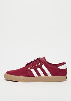 Adidas Skateboarding SEELEY burgundy/white/gold met.