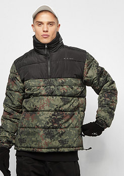 Hikids Puffer black camo