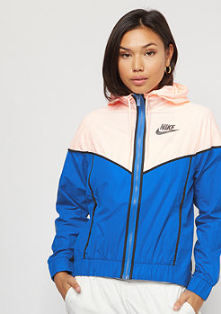 NIKE Windrunner signal blue/crimonson tint/black
