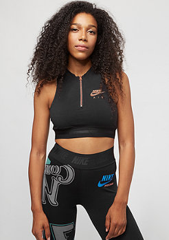 NIKE Air Crop black/rose gold/black