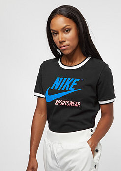 NIKE Ringer Top black