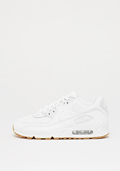 NIKE Air Max 90 white/white-gum light brown